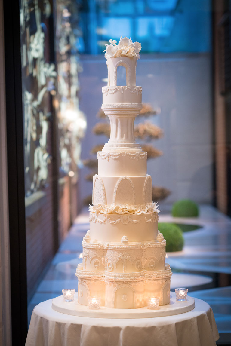 Luxury Wedding Cakes At The Connaught, Mayfair with GC