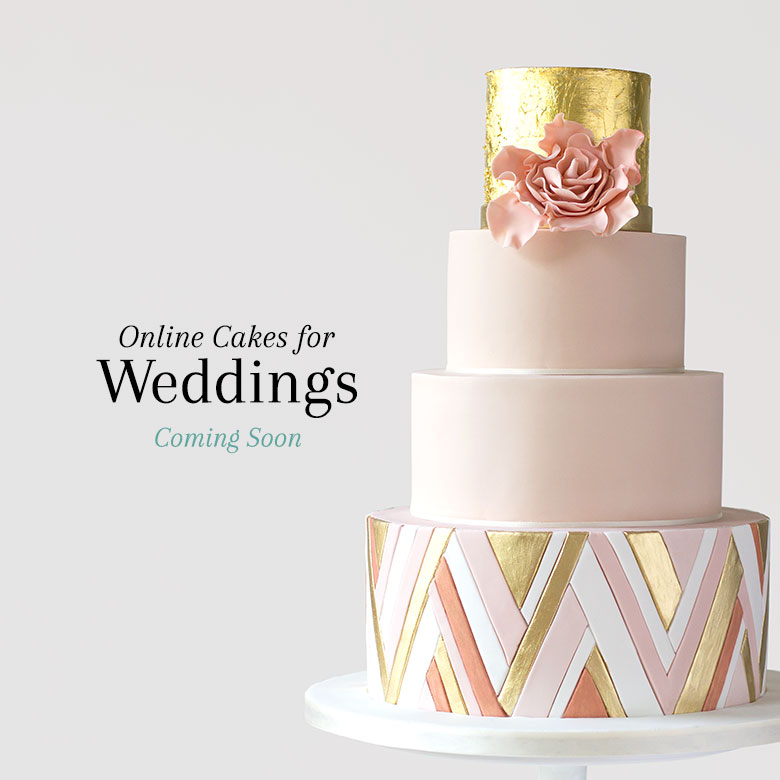 Online cakes for weddings