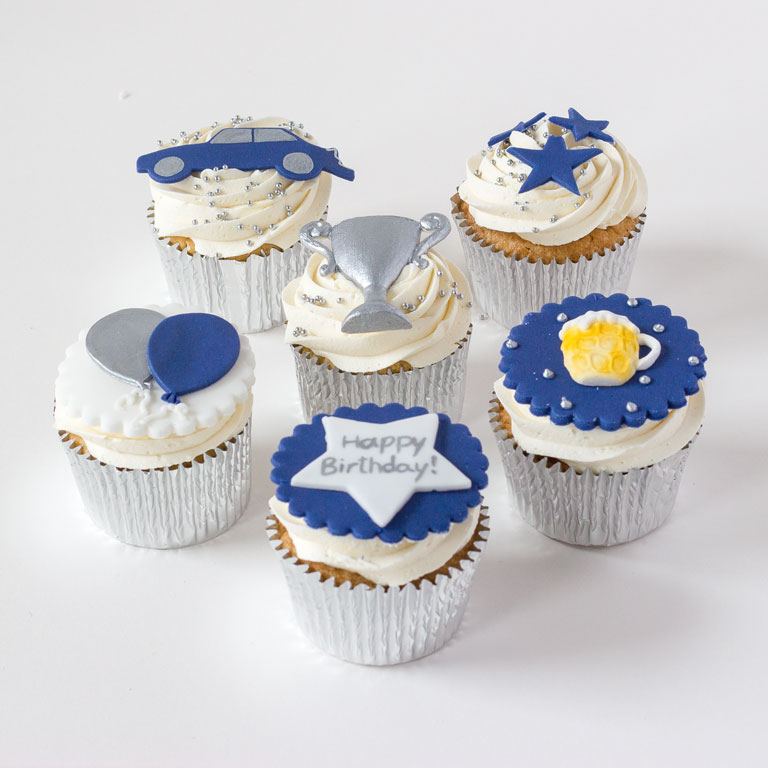 Male Birthday Cupcakes Gc Couture Mayfair London