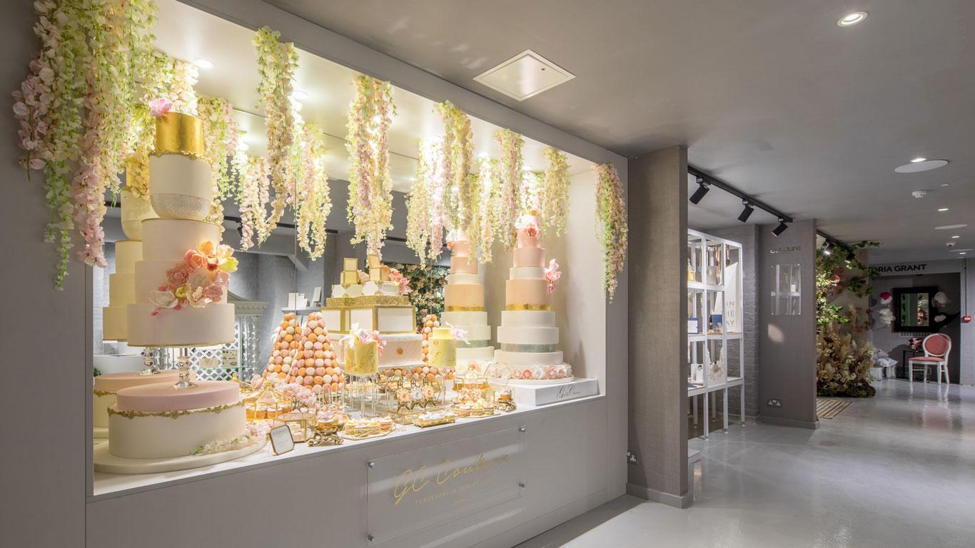 GC Couture Luxury Wedding Cake And Indulgence Bar | Luxury