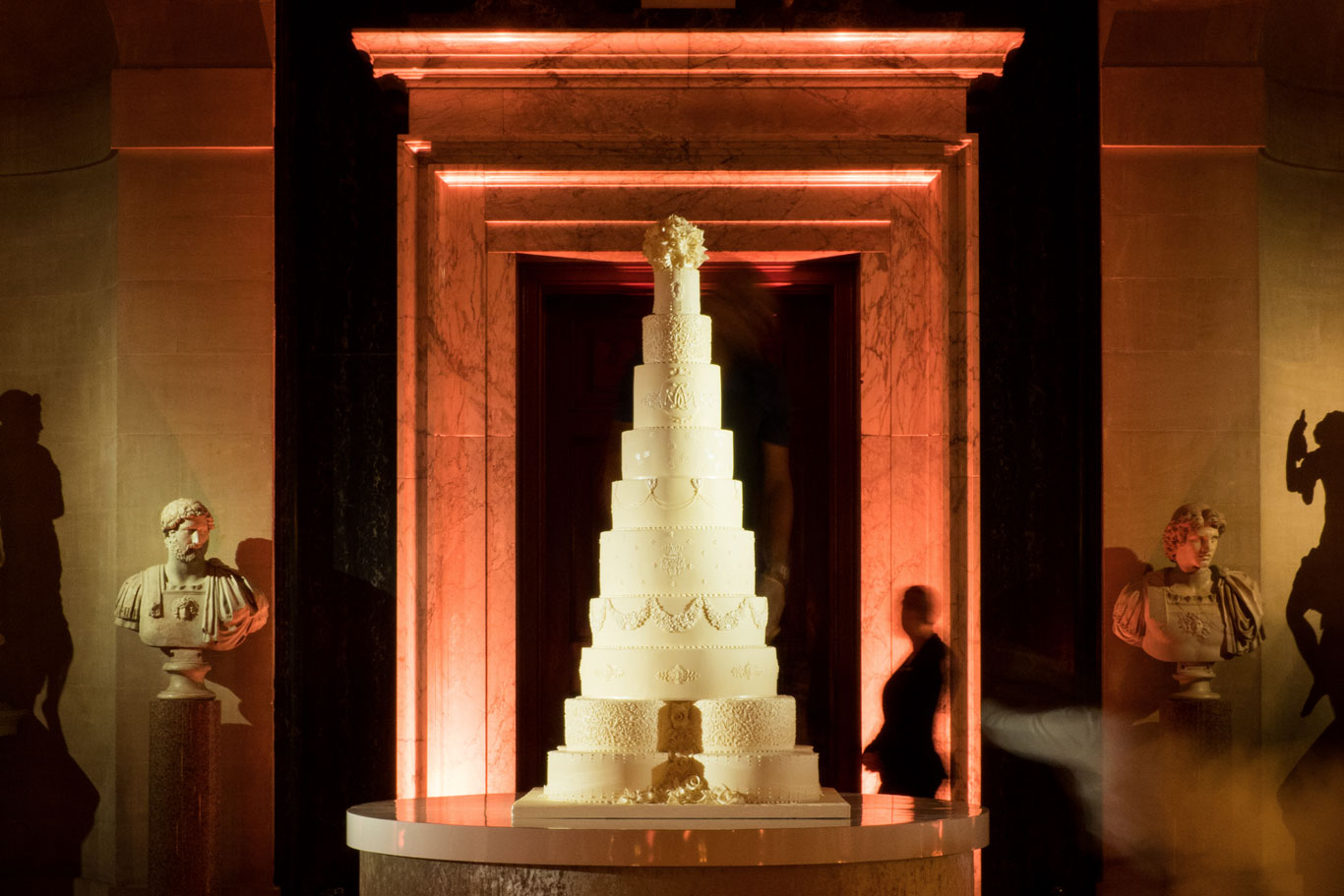 Blenheim Palace Wedding Cake By GC Couture